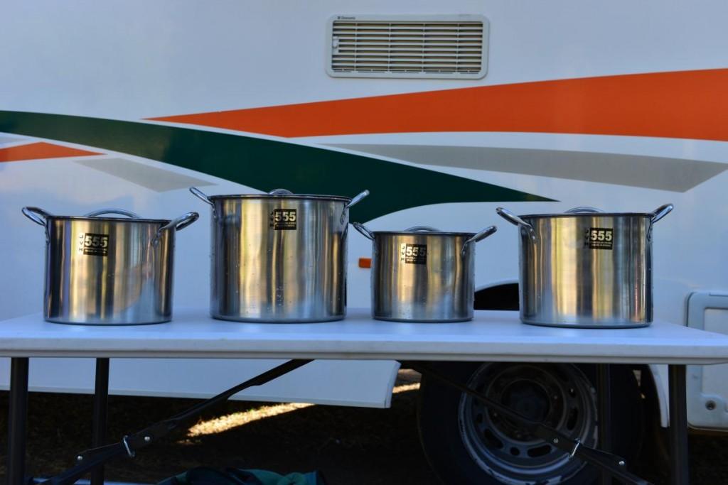 APOLLO Campervan Wohnmobil Töpfe