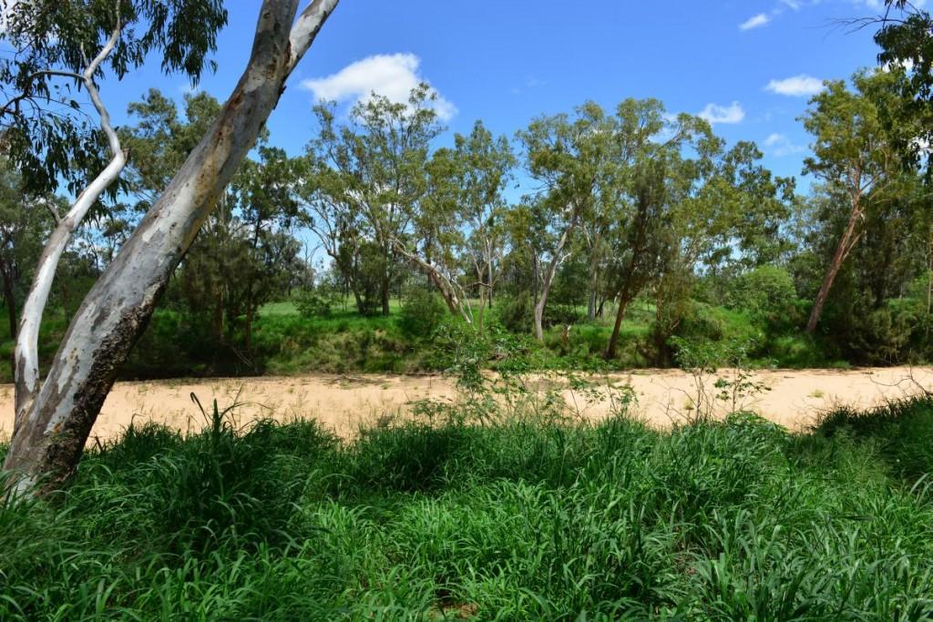 Australien Flussbett