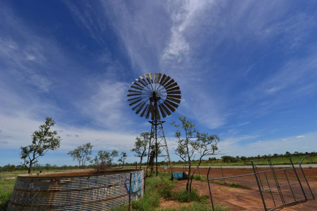 Australien Windrad