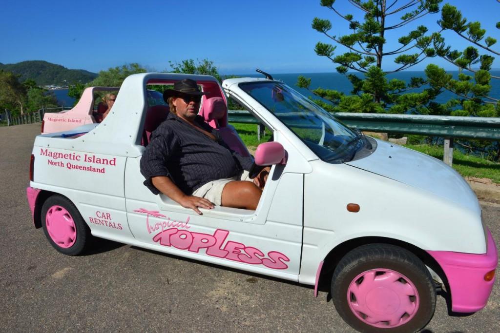 australia topless car