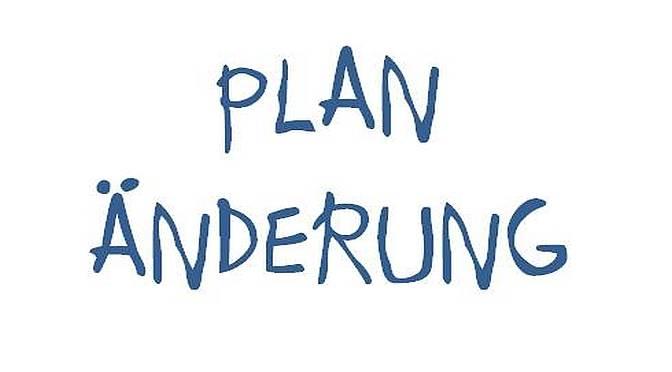 Planänderung