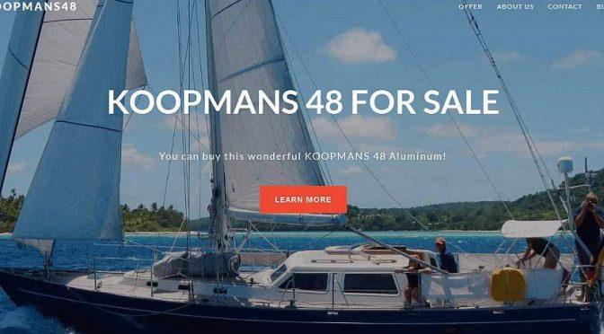 Aluminium Yacht zu vekaufen