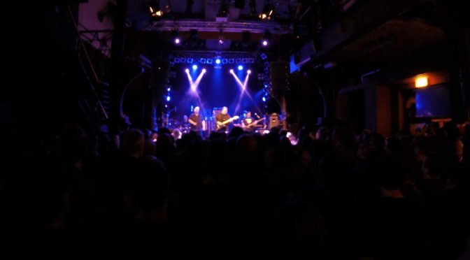 Steve Rothery Band im Knust, Hamburg 4. Januar 2017