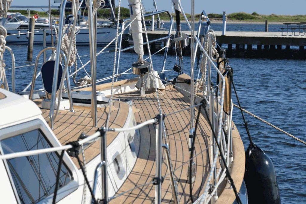 boot deck lackieren
