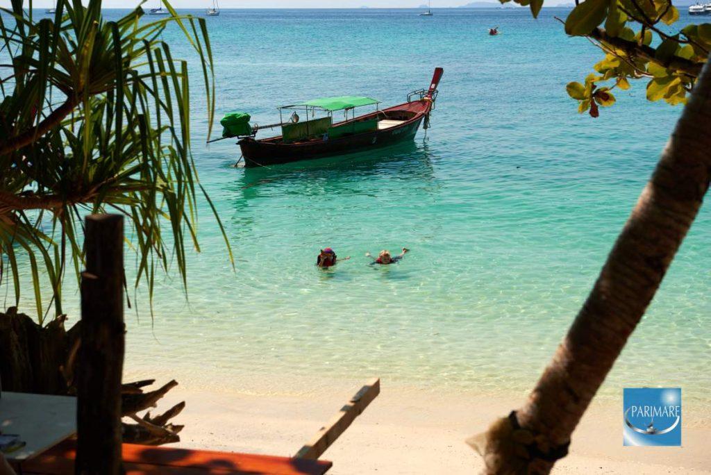 Sailors Arrive! Beach in Thailand