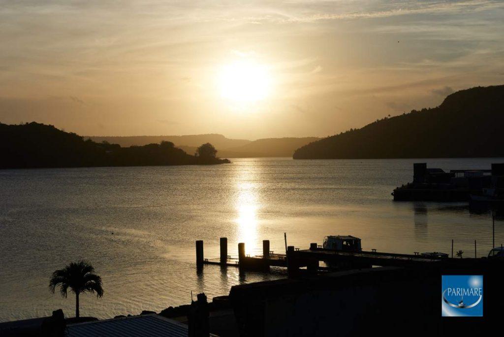Sailors Arrive! Sunset in Tonga