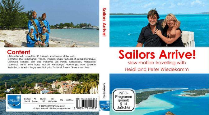 Sailors Arrive! Seefahrer kommen an.